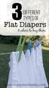 Types of Flat Diapers