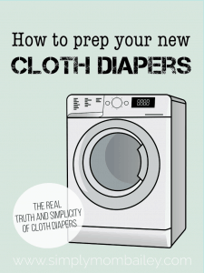 Tips for prepping cloth diapers #basics #beginner #clothdiaper101 #prep #microfibre #ecoparenting #ecofriendly #reusable #naturalfibres #laundry #washroutine #newdiapers