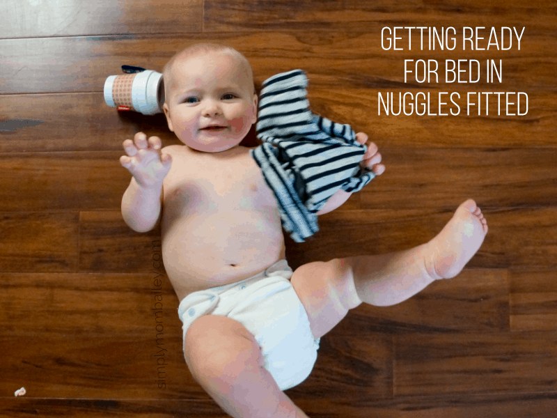Nuggles Fitted Cloth Diapers