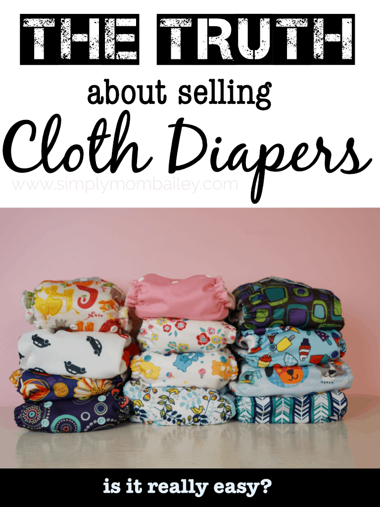 The Truth about selling used cloth diapers and why you aren't making money #clothdiapers #beginners #tips #basics #buyingandselling #facebook #mom #baby #toddler #resale #diapers #ecofriendly #green #natural