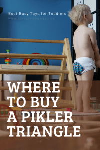 Where to buy a Pikler Triangle - Looking for the best toy ideas for infants? This indoor play at its best.