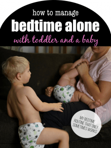 How to manage bed with a baby and a toddler solo #singleparent #bedtime #toddler #2under2 #parenting #motherhood #sleepschedule #sleeping