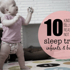 10 Reasons Not to Sleep Train a Baby