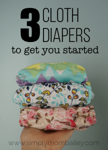 3 Cloth Diapers to Get Started