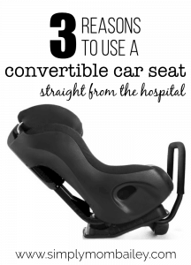 Skip the Infant Bucket Seat.