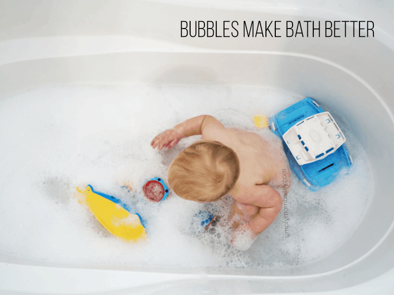 Bubbles Make Bathtime better