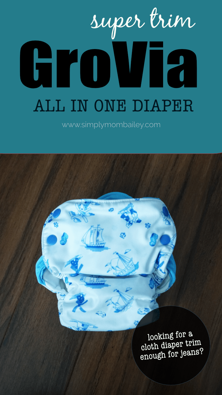 Complete Review of the GroVia AIO Cloth DIaper - #organic #diaper #baby #clothdiapers #ecofriendly #bestdiapers #green