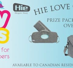Hie Diaper Bag by GroVia Giveaway with CozyBums [Canadians Only]