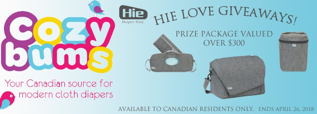 Hie Bag Giveaway Canada