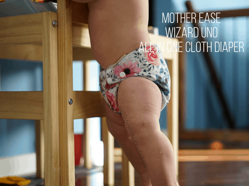 Mother ease wizard uno trim cloth diaper bum