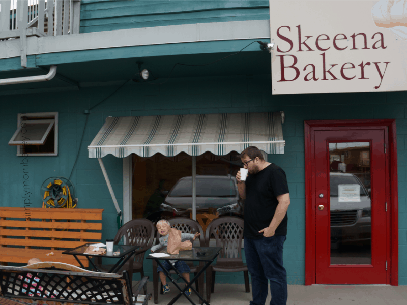 Skeena Bakery in Hazelton, BC