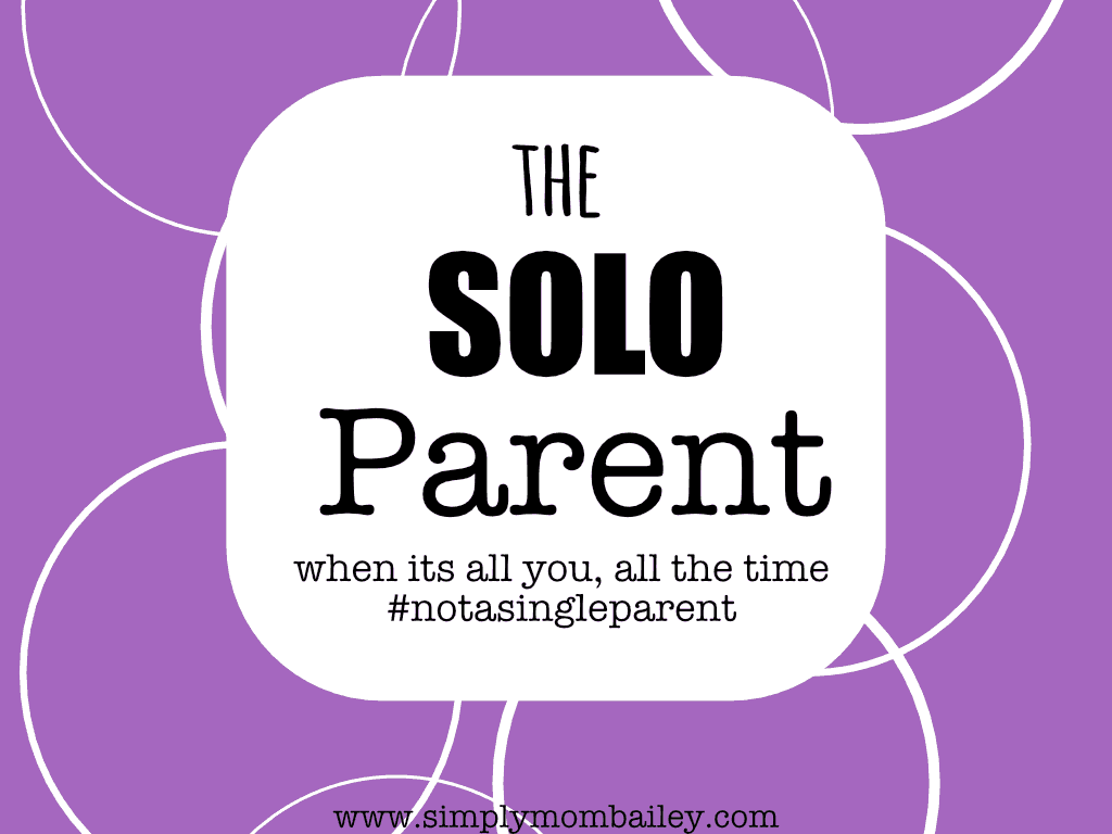 Solo Parenting when husband is away
