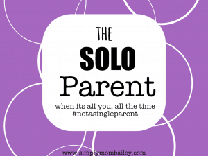 The Art of Solo Parenting