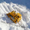 Tonka Trucks Driving Up the Snow Hill - Perfect outdoor play for toddlers and preschoolers