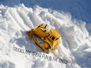 Fun Activities to do in the Snow with Toddlers