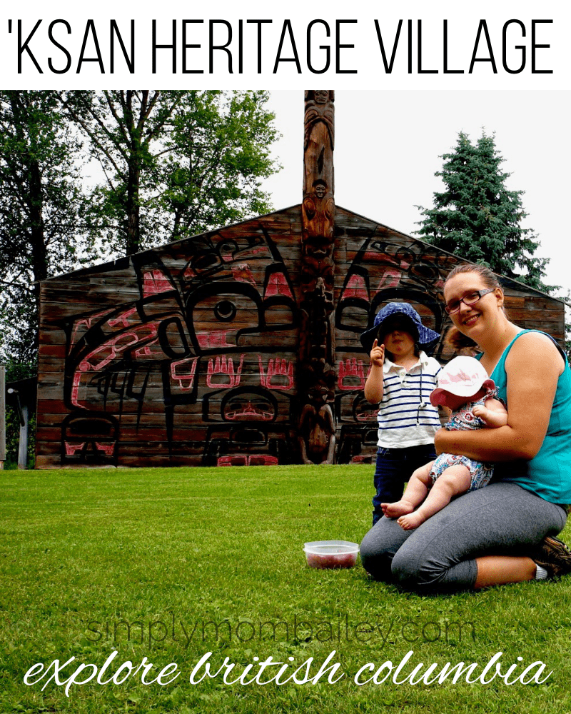 'ksan heritage village in Hazelton, BC #explorebc #travelcanada #canadianhistory #canadianheritage #britishcolumbia #northernbc #travelwithkids #familytravel #roadtrips #roadtriptoalaska #bcroadtrip