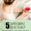 5 Super Simple Tricks to Help Menstrual Cramps & A Pink Lemonade Giveaway