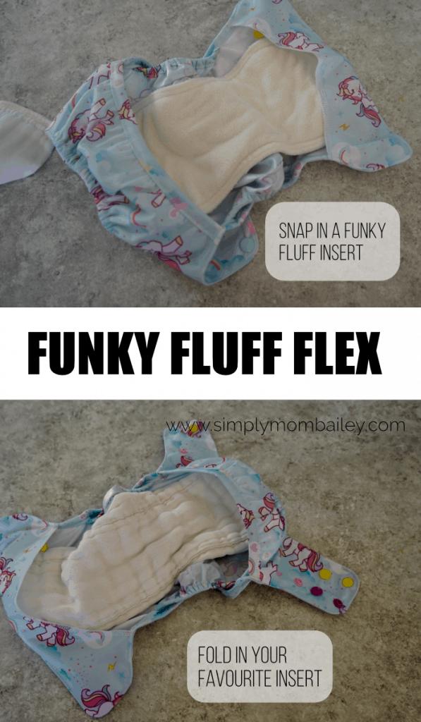 Funky Fluff Flex Absorbency Options