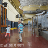 The Powerhouse at Stave Falls with Toddlers