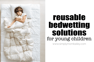 Reusable Options for Bedwetting Children