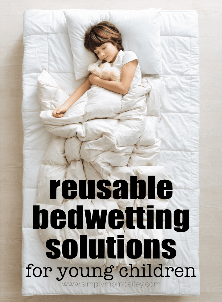 reusable bedwetting solutions for young children #pottytraining #toddler #preschooler #ditchthedisposables #ecofriendly