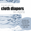April Cloth Diaper Blogger Link Up