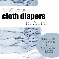 April Cloth Diaper Blogger Link Up
