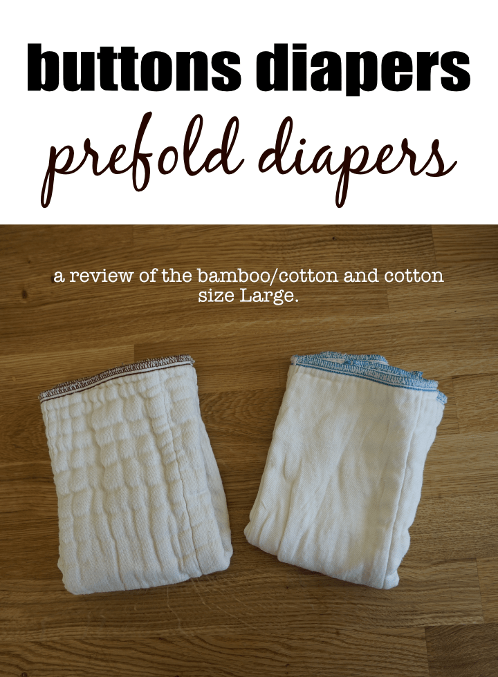 Buttons Prefold Cloth Diapers #clothdiaper #baby #diapers #absorbency #bestdiapers