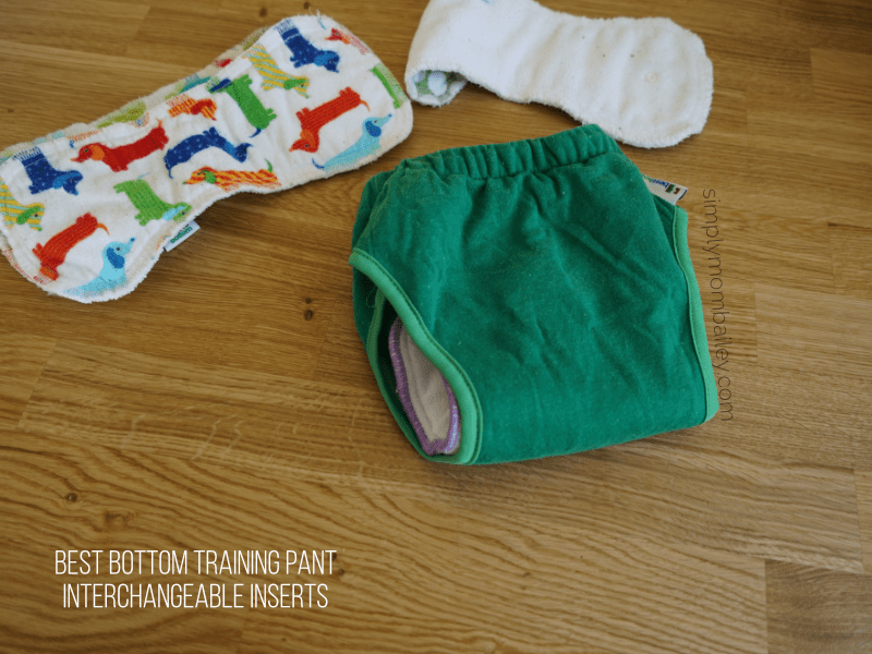 best bottom potty training pant with buttons insert.