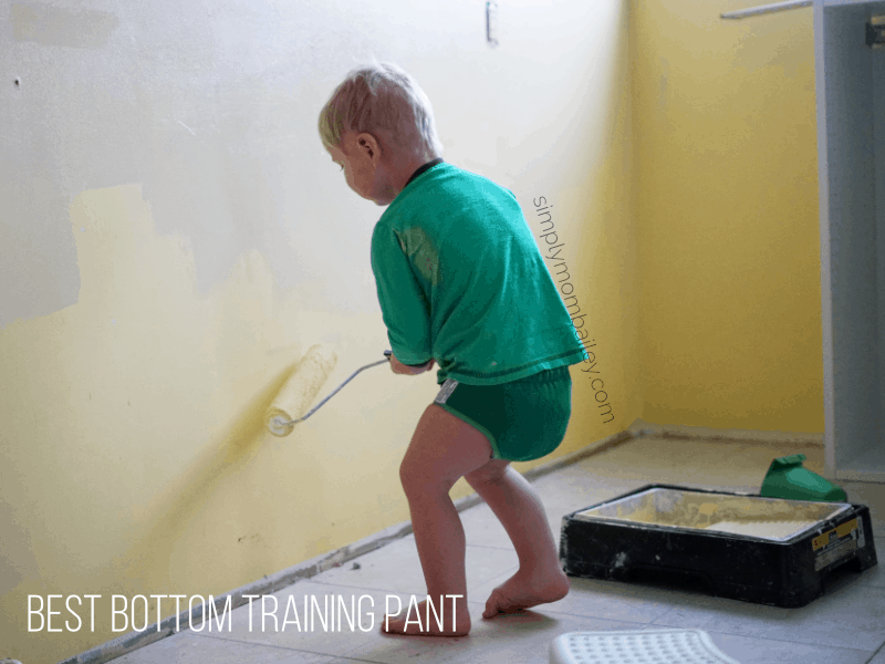 best bottom training pant on a preschooler