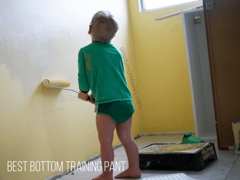best bottom training pant on a toddler