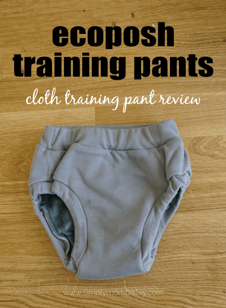 ecoposh by kangacare cloth training pants review #clothpullups #pottytraining #toddlers #reusable #ecofriendly