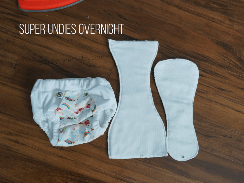 super undies with microfibre inserts