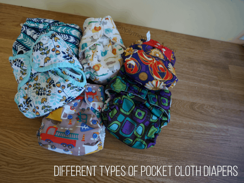 Different Types of Pocket Cloth Diapers to Choose From