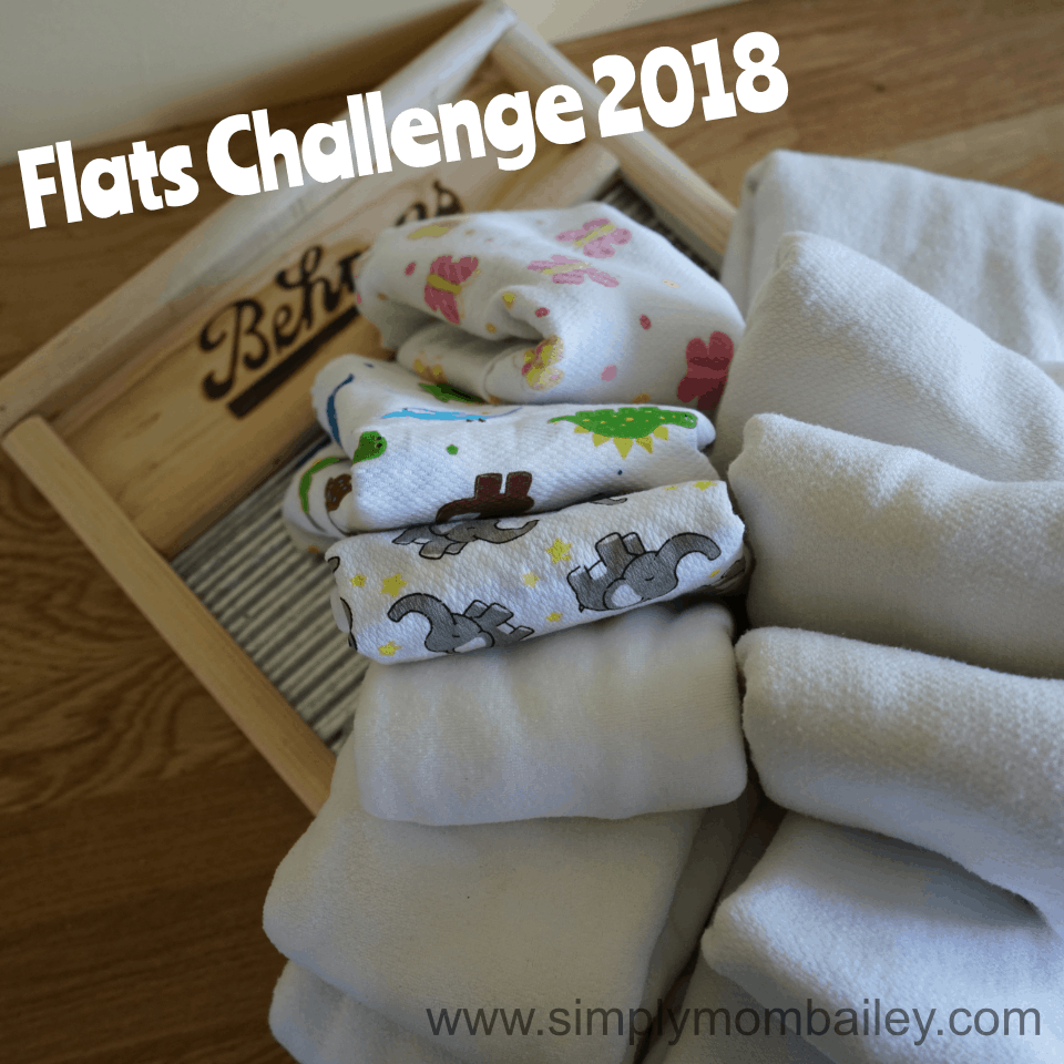 Flats Challenge 2018 - Flat Diapers and a wash board