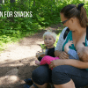 Hiking with Toddlers - Snack Time at War Falls