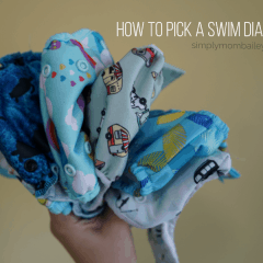 4 Reasons for a Cloth Swim Diapers instead of Disposable