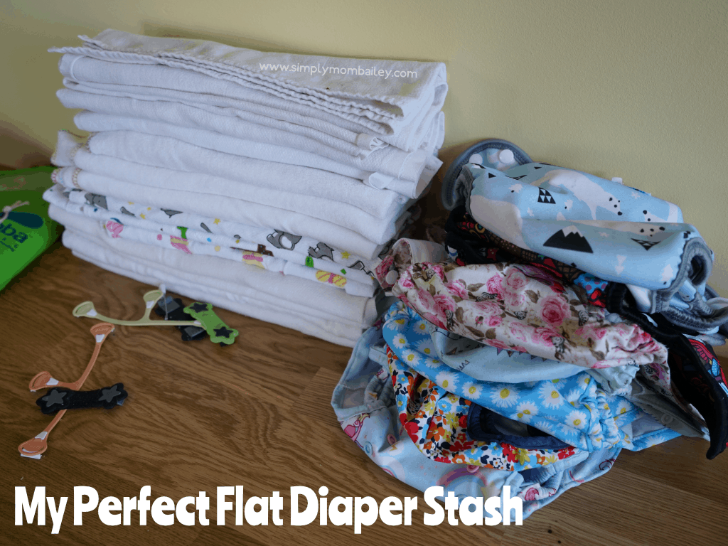 My Perfect Flat Diaper Stash