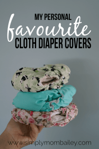 Why I love Lined Cloth Diaper Covers