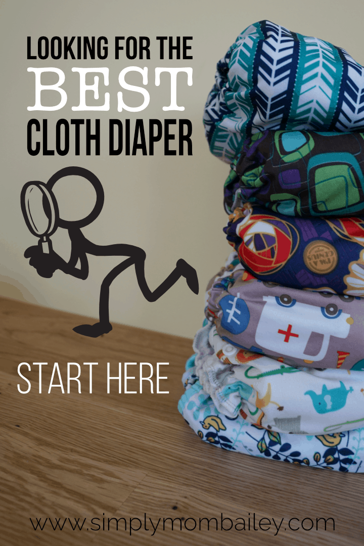 The Best Cloth Diaper for your Family #ecofriendly #clothdiaper #fobaby #bestforbaby