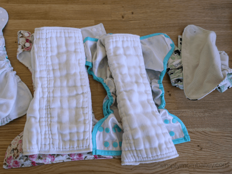 Using Cloth Diaper Covers with Prefold Diapers