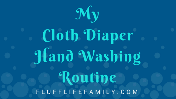 Hand Washing Cloth Diapers
