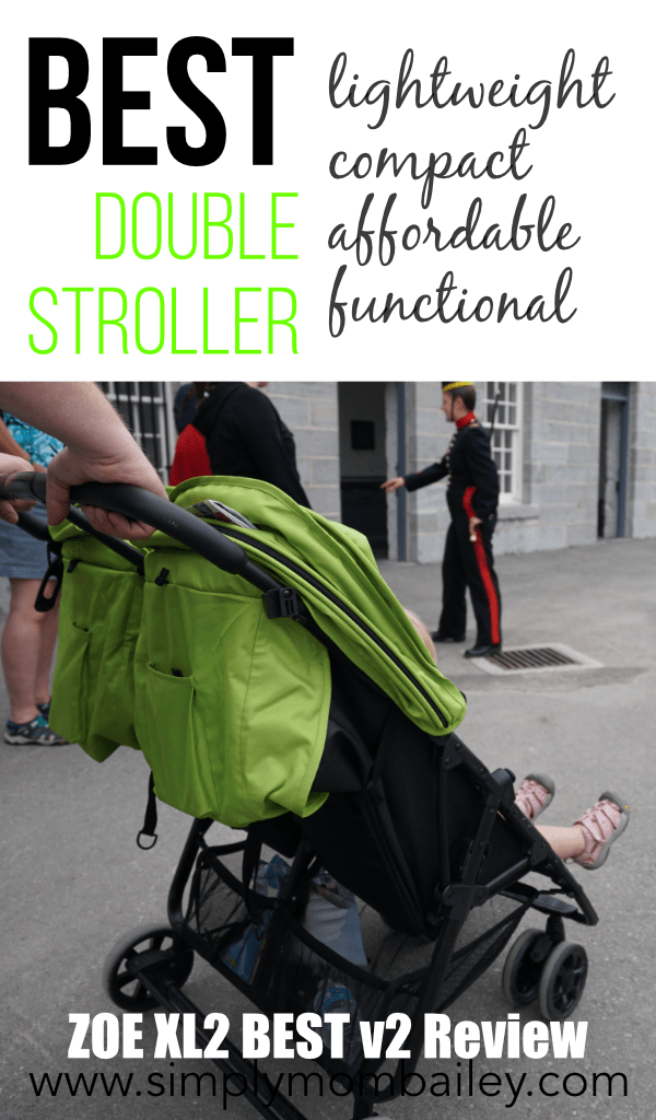 Best Double Stroller - lightweight, compact, functional, affordable stroller for travel with two kids #travel #zoestroller #strollers #beststroller #strollerreview #umbrellastroller #lightweightstroller