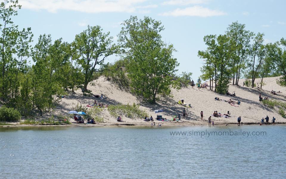 Eastern Ontario Roadtrip - Prince Edward Sand Dunes