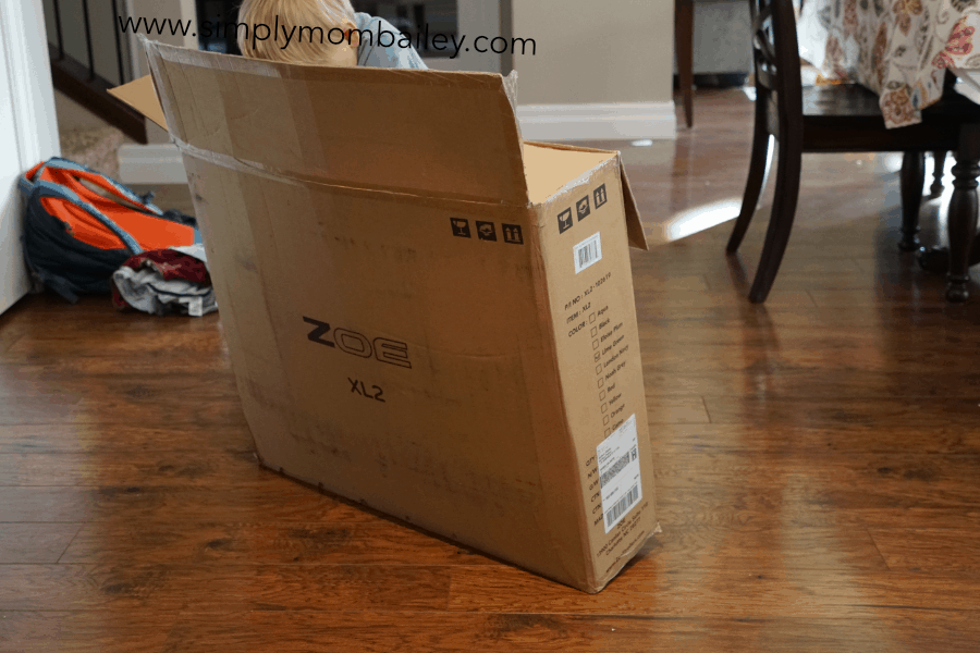 Unpacking Zoe Double Umbrella Stroller for Travel