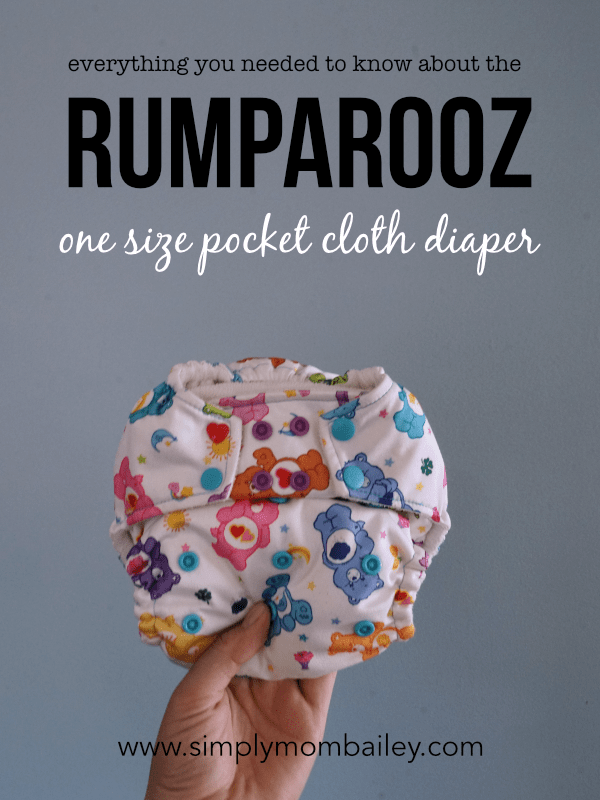 Everything you needed to know aboutthe rumparooz one size pocket cloth diaper #clothdiapers