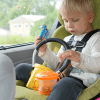 Roadtrip with Toddler - When in doubt keep passing them snacks