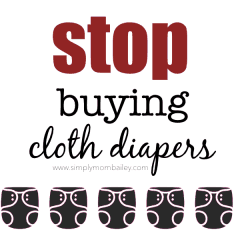 Stop Buying Cloth Diapers