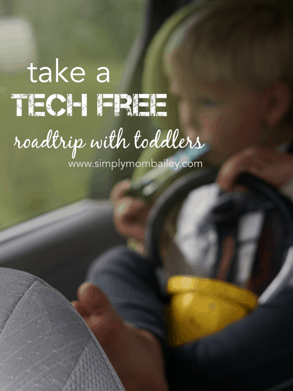 Take a Tech Free Roadtrip with Toddlers #travelwithkids #roadtrip #canadianroadtrip #toddlers #toddlertravel #technologyfree #screentime