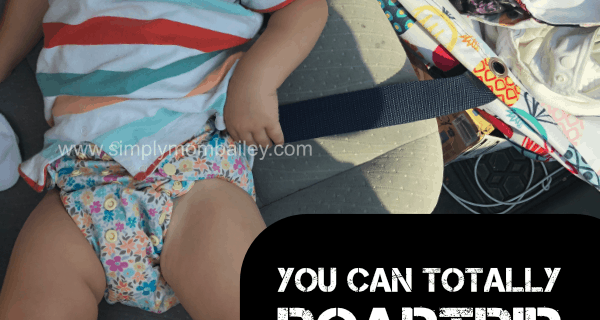 You Can Travel with AIO Cloth Diapers